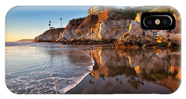 Pismo Cliffs And Reflections IPhone Case