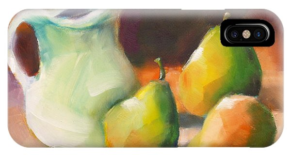 Pitcher And Pears IPhone Case