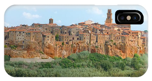 Pitigliano Panorama IPhone Case