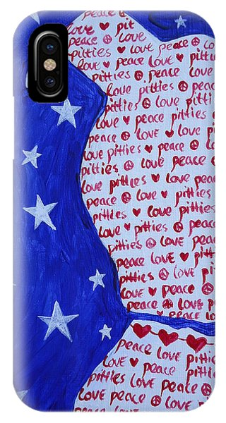 Pittie Love IPhone Case