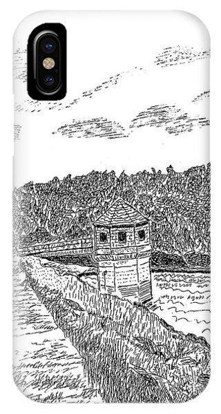Pittsburg Dam IPhone Case