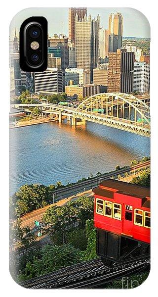 Pittsburgh Duquesne Incline IPhone Case