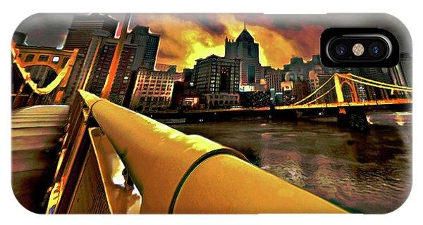 Pittsburgh Skyline IPhone Case