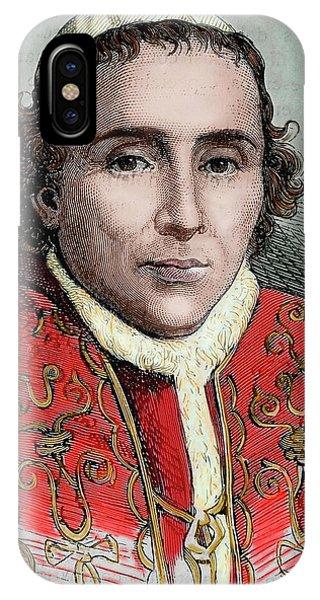 Pius Vii (1740-1829 IPhone Case