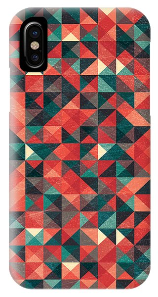 Background iPhone Case - Pixel Art Poster by Mike Taylor