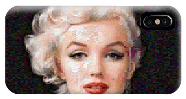 Pixelated Marilyn IPhone Case