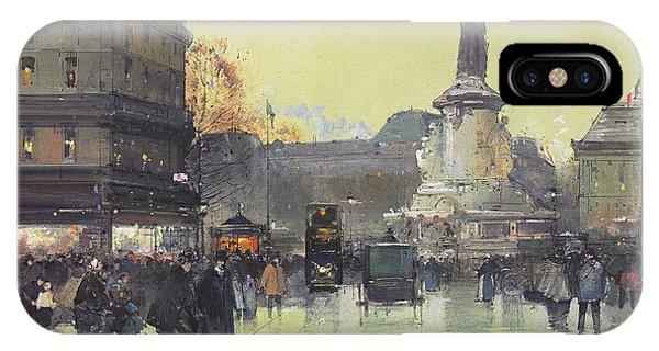 Place De La Republique IPhone Case