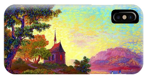 Figurative iPhone Case - Beautiful Church, Place Of Welcome by Jane Small