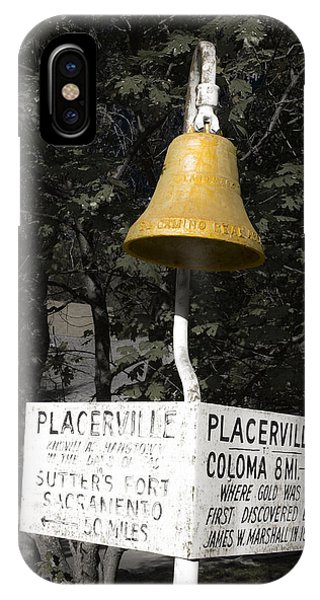 Placerville Bell IPhone Case
