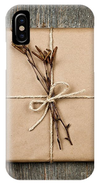 Plain Gift With Natural Decorations IPhone Case