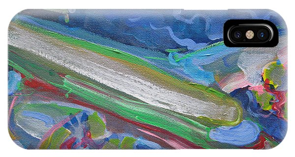 Plane Colorful IPhone Case
