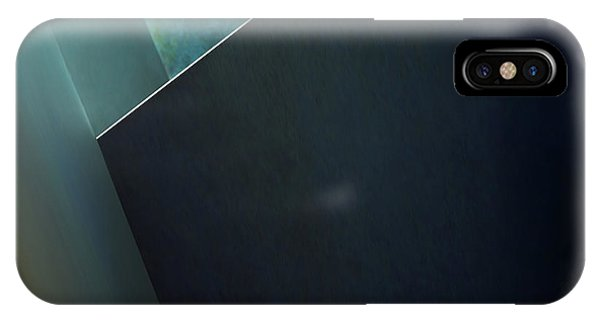 Teal iPhone Case - Plane by Gilbert Claes