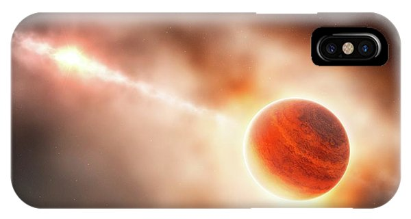 Astrophysical iPhone Case - Planet Formation Around A Star by Eso/l. Calcada