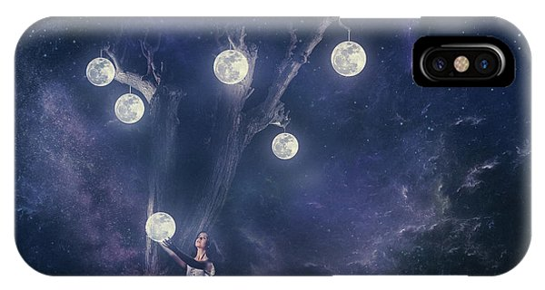 Fairytales iPhone Case - Planet Holder by Evgeny Loza