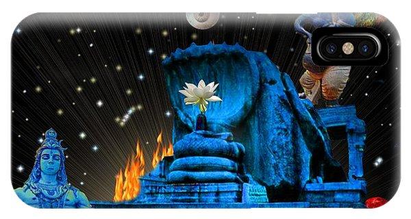 Planet Of Shiva  Phone Case by Jason Saunders