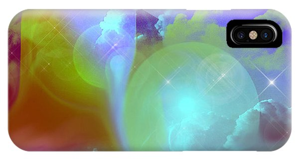 Planetary Storm IPhone Case