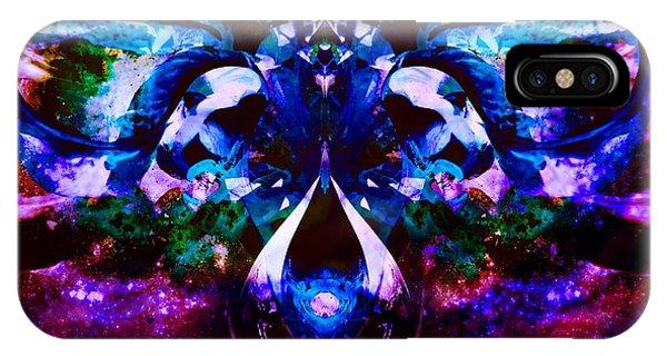 Plant Abstract Phone Case by Dawn  Van Doorn