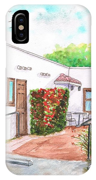 Plant And Chairs In Laguna Beach - California IPhone Case