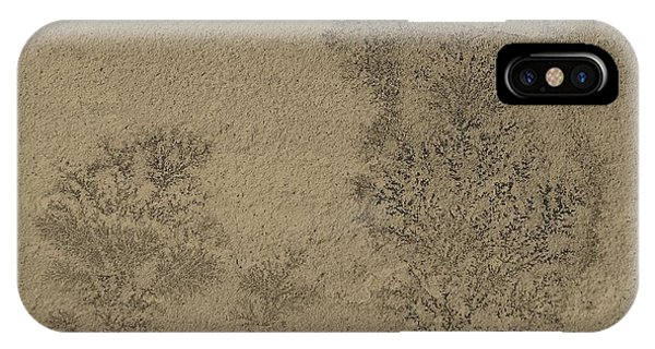 IPhone Case featuring the photograph Plant Caught In Time by Debbie Cundy