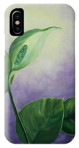 Plant In The Light IPhone Case