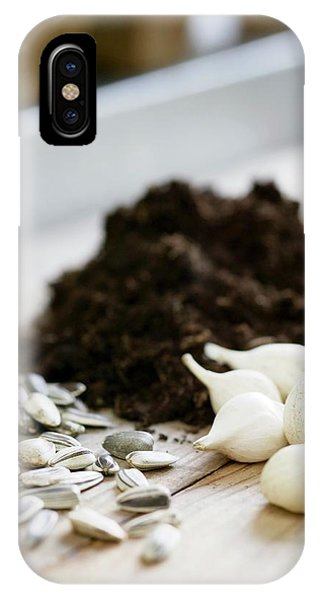 Golden Gardens iPhone Case - Plant Seeds And Bulbs by Gustoimages/science Photo Library