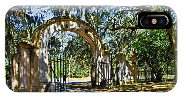 Plantation Gate IPhone Case