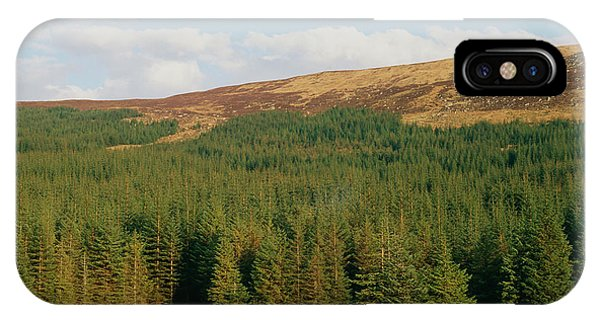 Spruce iPhone Case - Plantation Of Sitka Spruce by Duncan Shaw/science Photo Library
