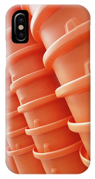 Rubbish Bin iPhone Case - Plastic Bins by Steve Allen/science Photo Library