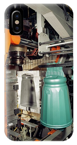 Rubbish Bin iPhone Case - Plastic Injection Moulding by Steve Allen/science Photo Library