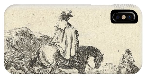 Plate 8 A Horseman Descends IPhone Case