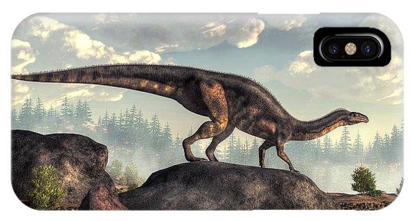 Plateosaurus IPhone Case