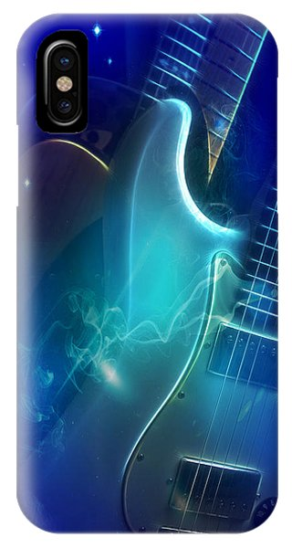Play Them Blues IPhone Case
