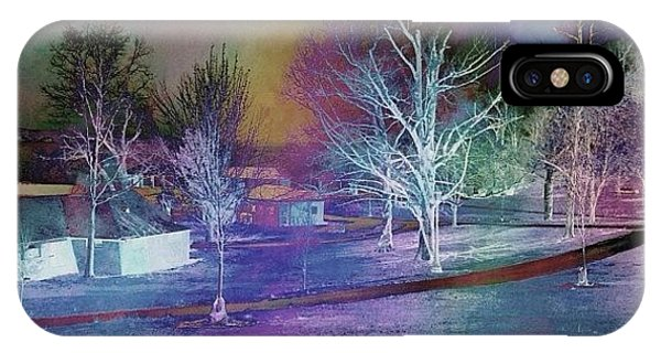 Watercolor iPhone Case - Playin Around With #laminar...what A by Robin Mead