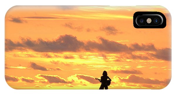 Playing To The Sun IPhone Case