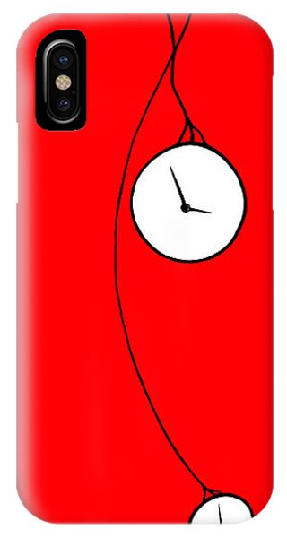 Playing With Time IPhone Case