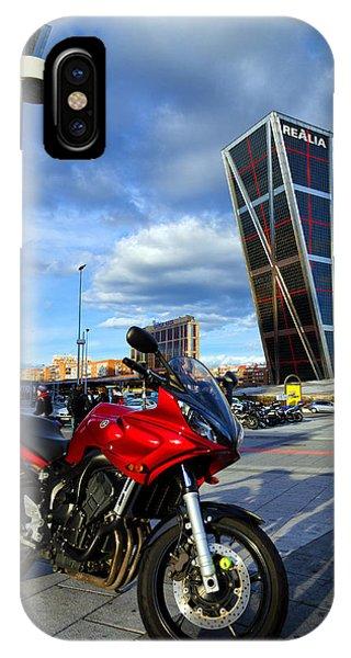 Plaza De Castilla IPhone Case