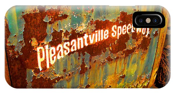 Pleasantville Speedway IPhone Case