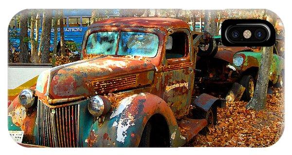Pleasantville Speedway Tow Truck IPhone Case