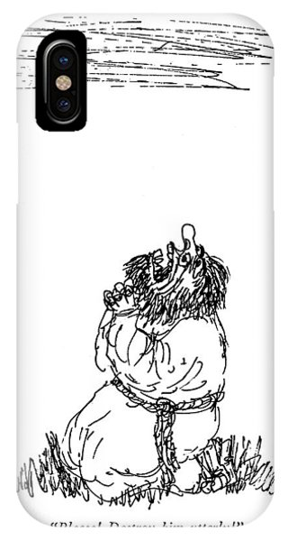 Please! Destroy Him Utterly! IPhone Case