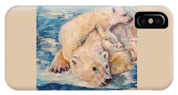 You Need Another Nap, Polar Bears IPhone Case