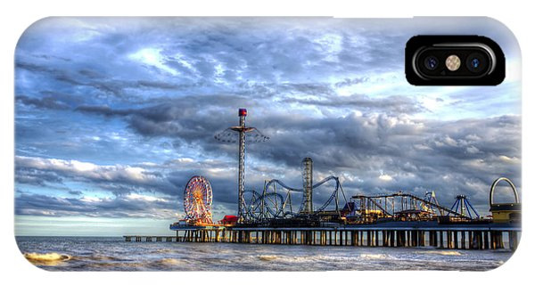 Pleasure Pier Galveston IPhone Case
