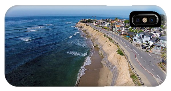 Santa Cruz Surfing iPhone Case - Pleasure Point by David Levy