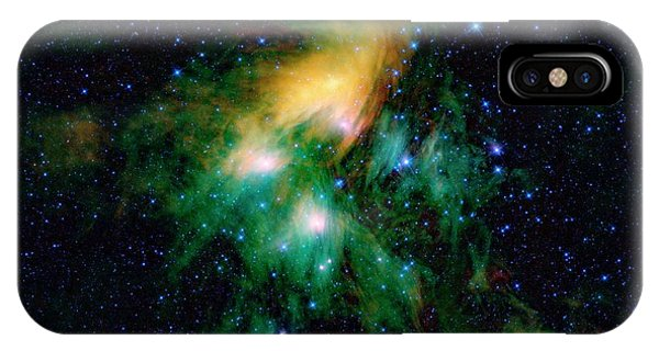 iPhone Case - Pleiades Star Cluster by Nasa/jpl-caltech/ucla/science Photo Library