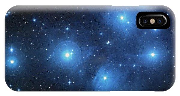 Pleiades - Star System IPhone Case