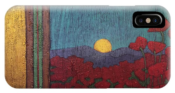 Plentiful Vista With Poppies IPhone Case