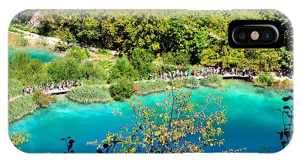 Plitvice Lakes Croatia IPhone Case