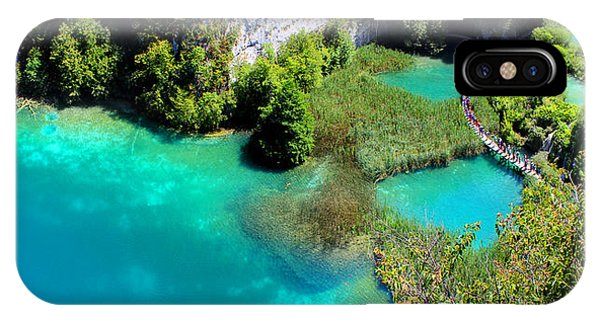 Plitvice Lakes National Park IPhone Case