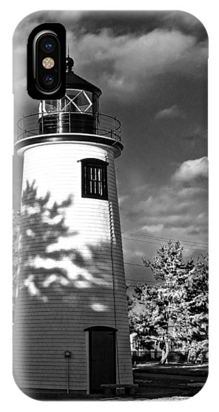 Plum Island Light 01 IPhone Case