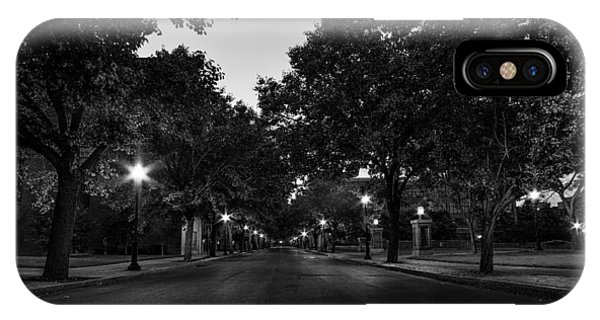 Plum Street To Franklin Square IPhone Case