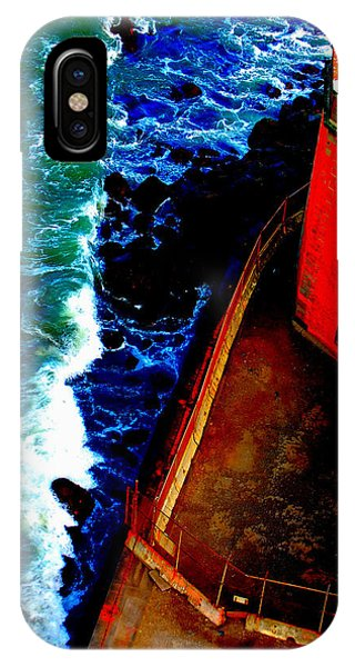 Plunging From Golden Gate IPhone Case